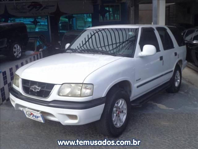 55405448ce CHEVROLET BLAZER 4.3 SFI DLX 4X2 V6 12V BRANCO 1999 2000 GASOLINA EM  CAMPINAS