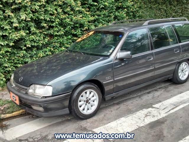 28d0803bc8f CHEVROLET SUPREMA 2.2 MPFI GLS 8V CINZA 1996 1996 GASOLINA EM TABOÃO DA  SERRA